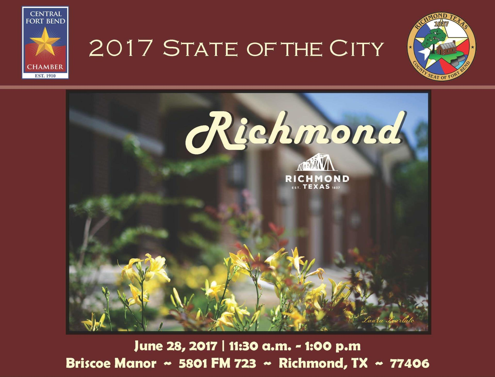 2017 State of the City Richmond Flyer 5.17.17