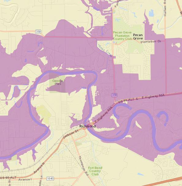 Mandatory Evacuation For Richmond Areas Prone To Flooding News - Richmond on us map