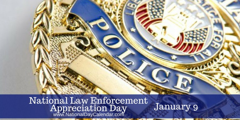 National-Law-Enforcement-Appreciation-Day-January-9