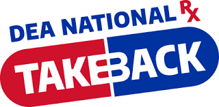 Richmond Police Department Is Collection Site for National Prescription Drug Take Back Day on April 28th, 2018- 10 am to 2 pm.