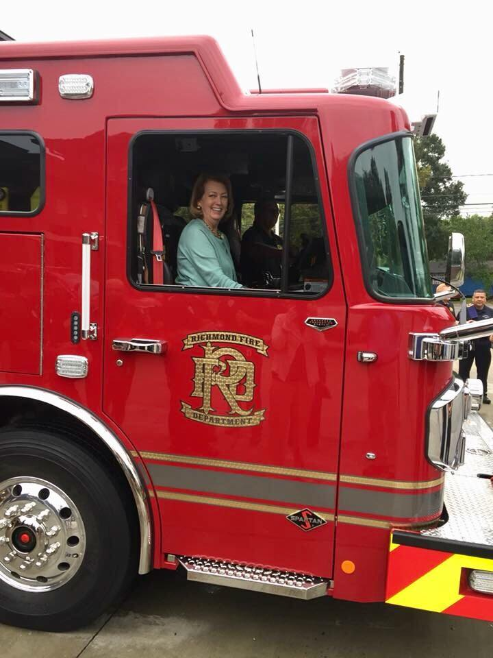 Mayor Moore passenger for Push In  of Engine 41