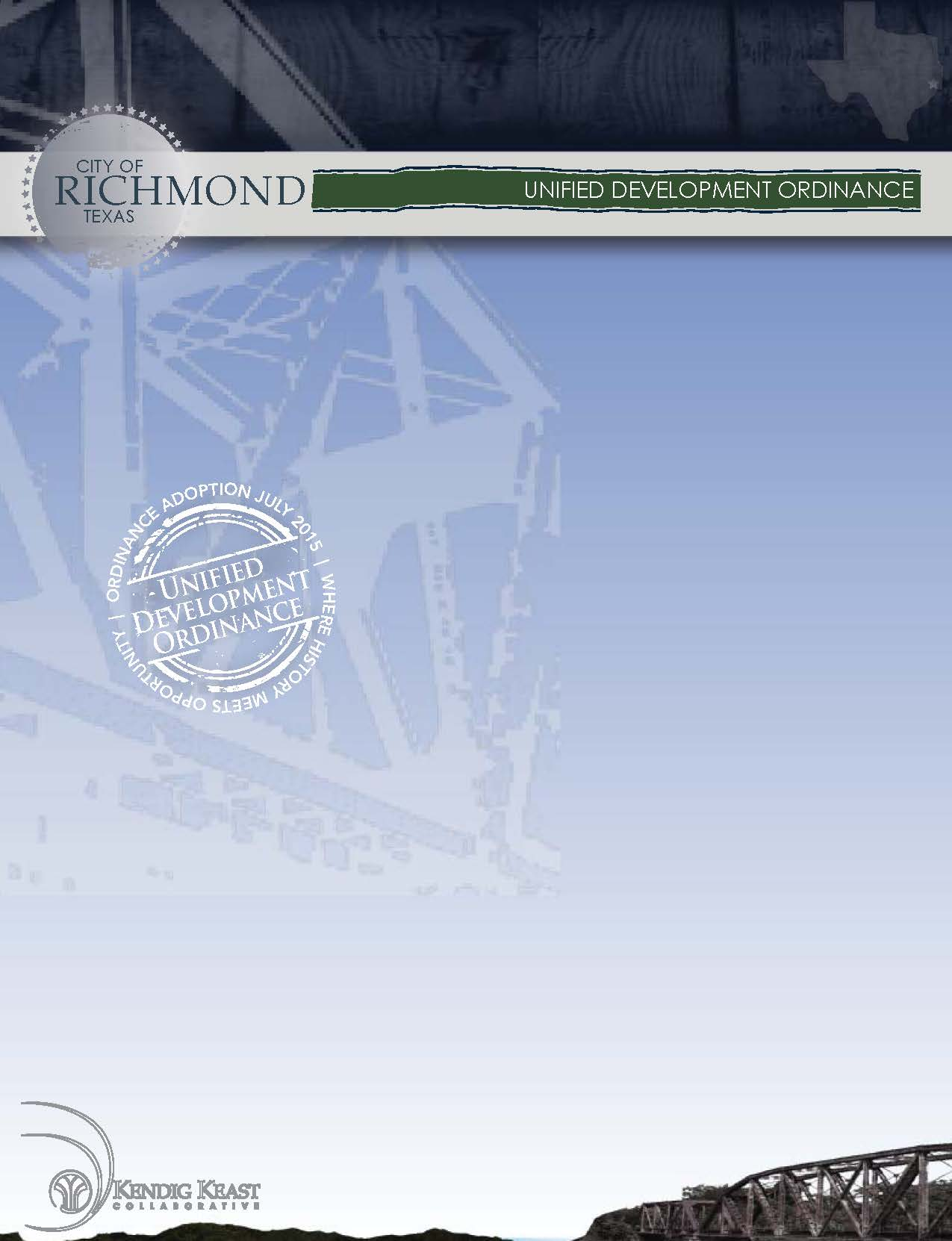 Richmond UDC Cover Page