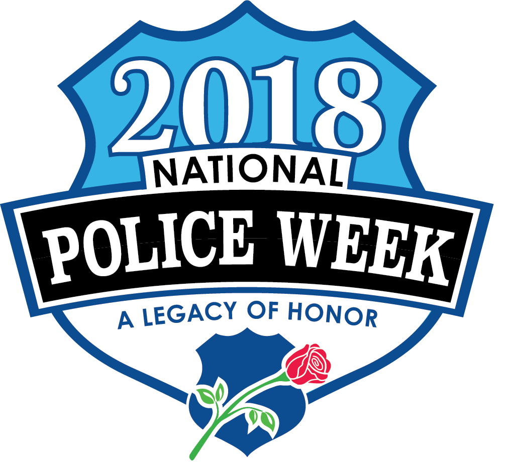 National Police Week 2018 logo image