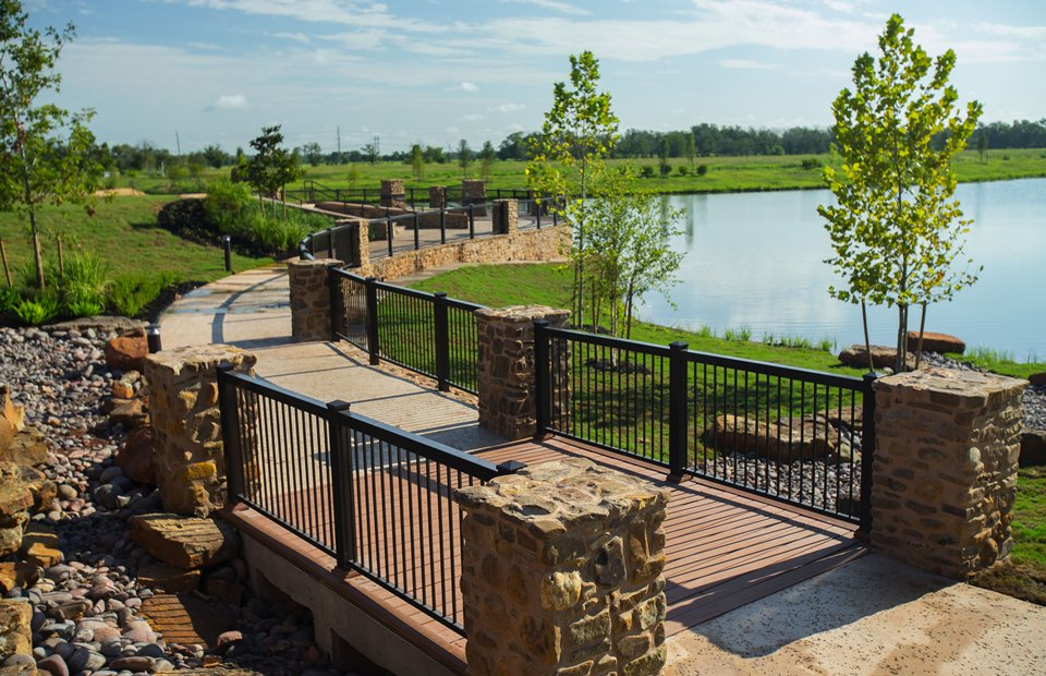 Del Webb Sweetgrass Trails bridge