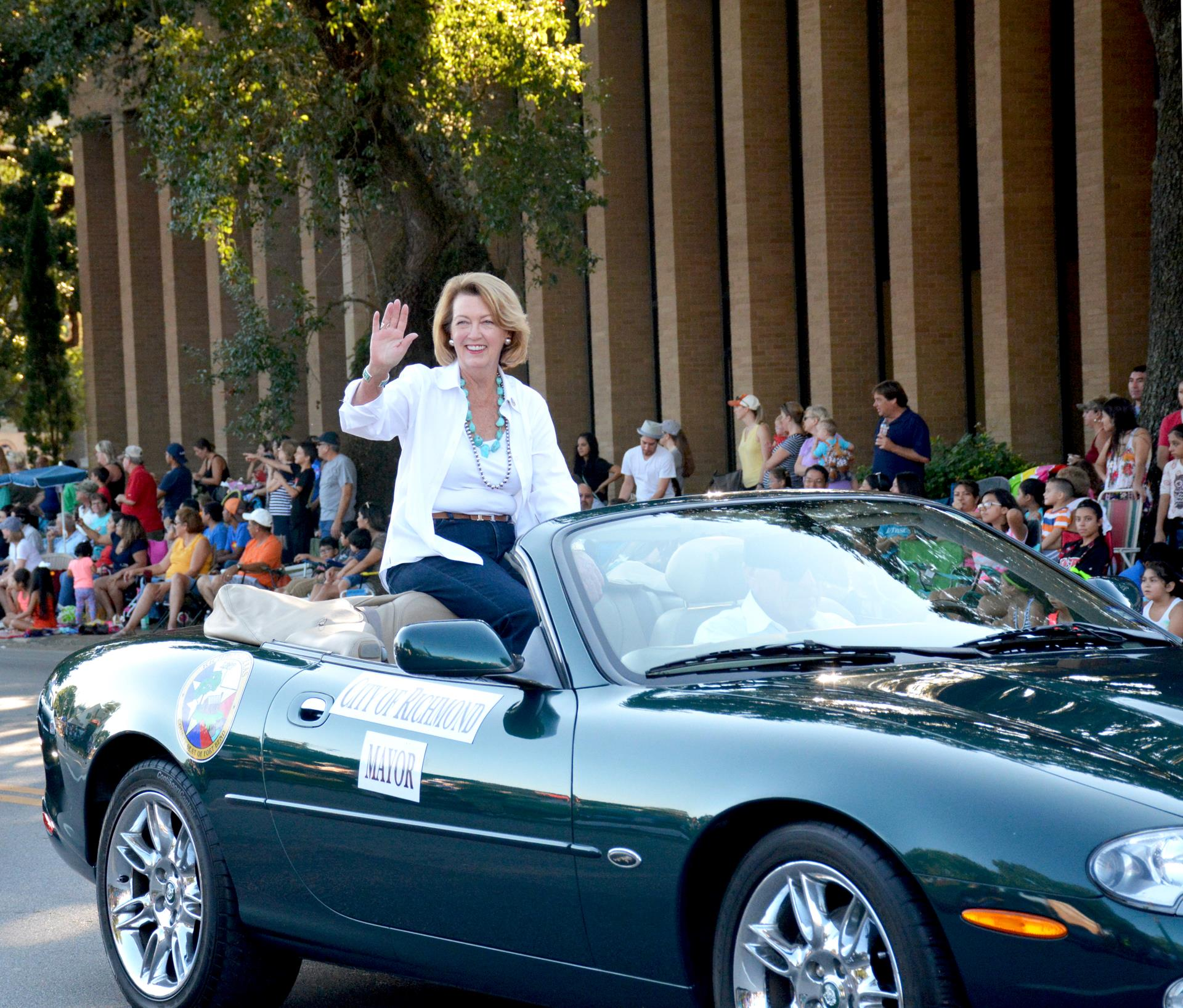 Fort Bend County Fair Parade-MayorMoore
