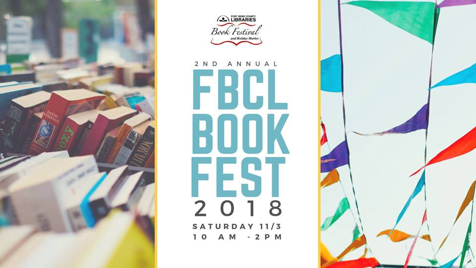 2nd Annual Fort Bend County Libraries Book Fest 2018