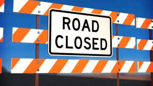 Road Closed Barrier image