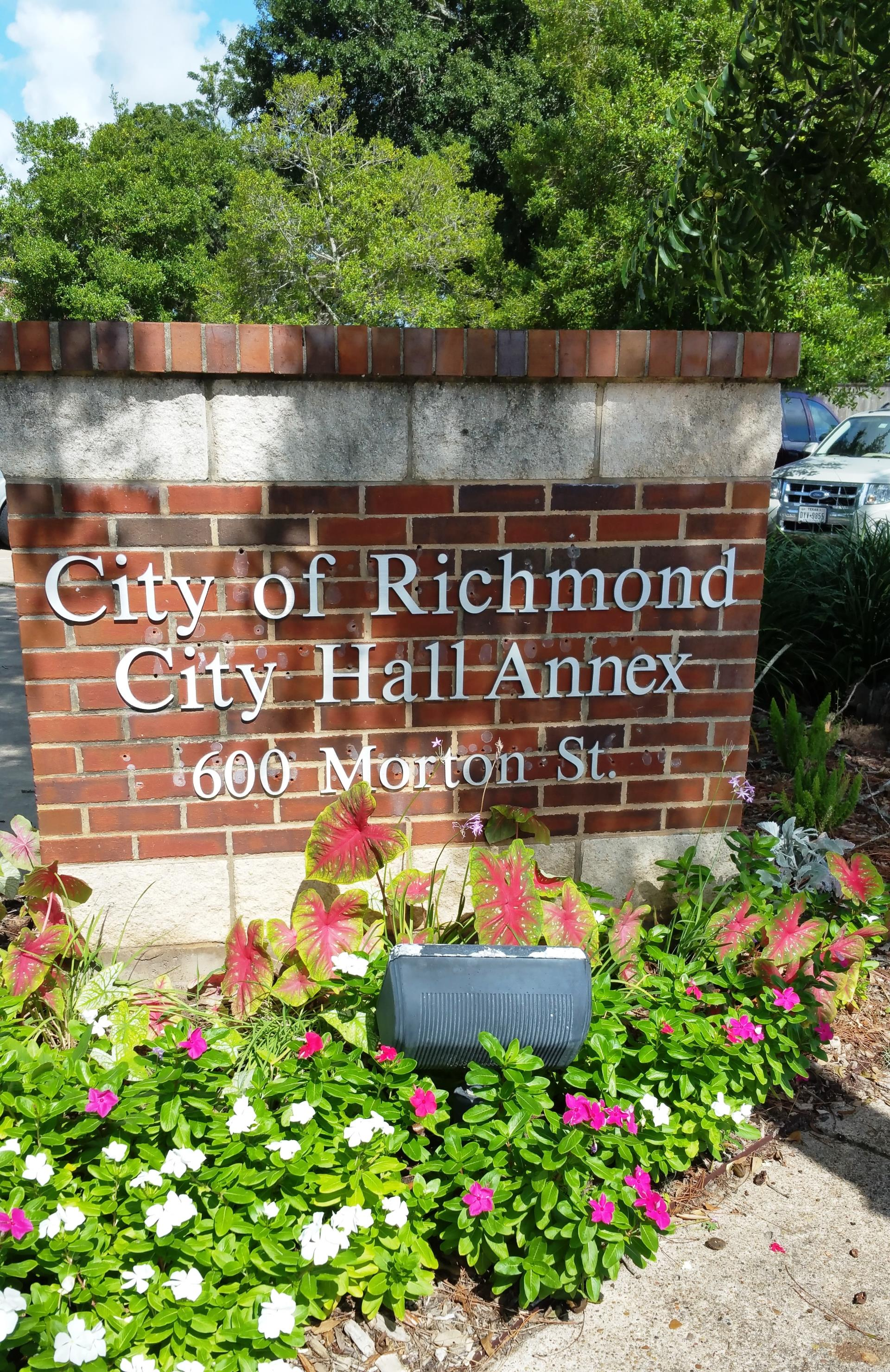 City Hall Annex sign