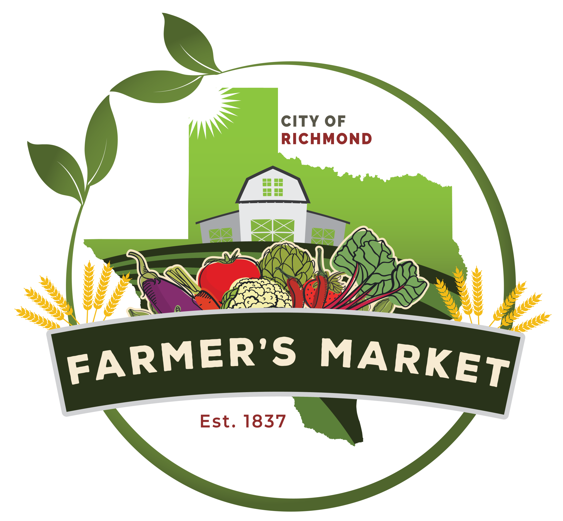 Richmond Farmers Market 2020 logo